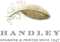 Handley Engraver & printer since 1947